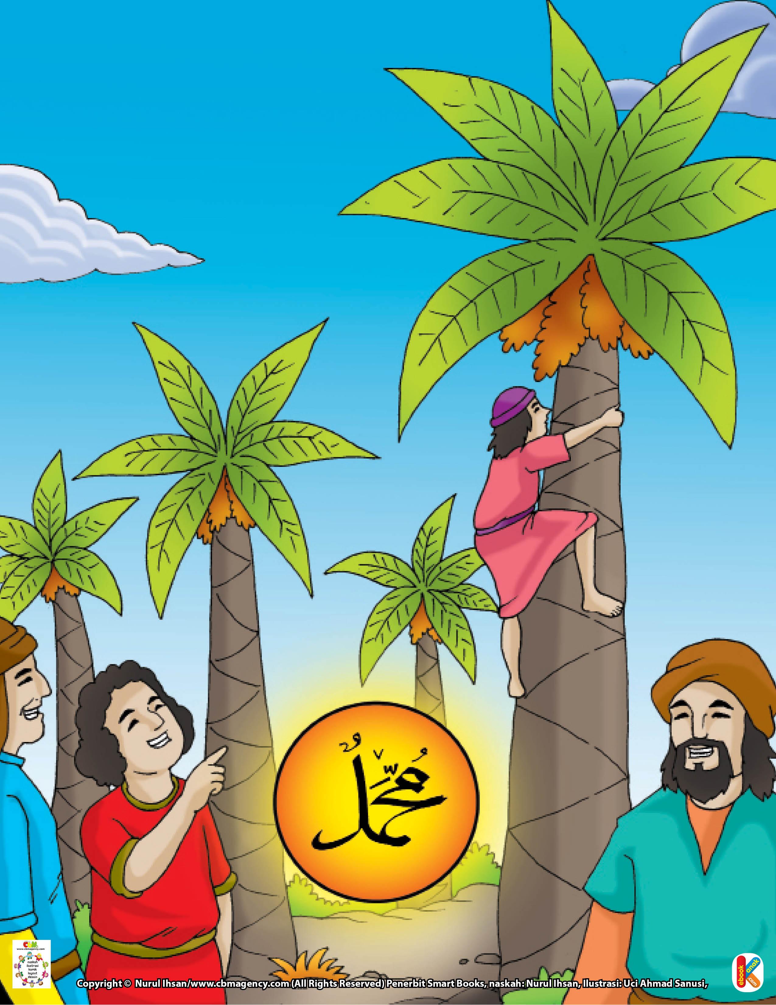 Saat para sahabat melihat dua betis Ibnu Mas'ud yang kecil, tiba-tiba mereka tertawa.