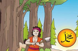 Tukang kayu itu selalu menyembunyikan tangannya jika bersalaman dengan Rasulullah Saw.