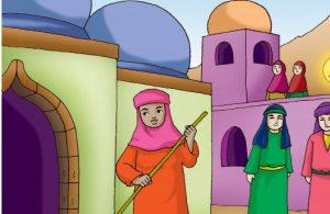 Rasulullah Saw. pun ikut memperhatikan kehidupan Ummu Mahjan.
