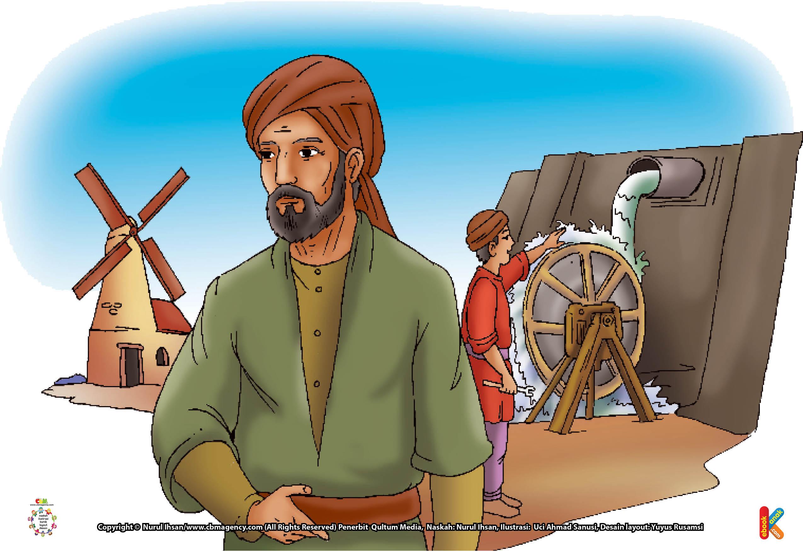 Al-Jazari mendapat julukan sebagai Bapak Engineering Modern berkat temuan-temuannya yang banyak memengaruhi rancangan mesin-mesin modern saat itu.