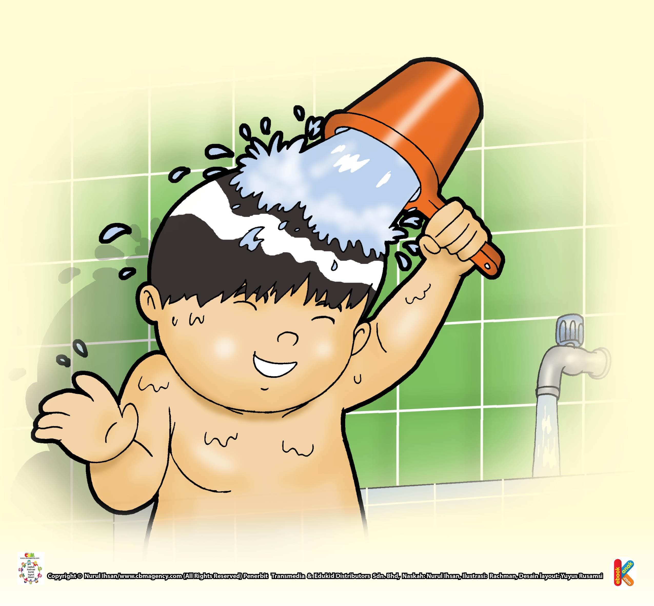 gambar mandi wajib betul klik aje gambar anak di rebanas