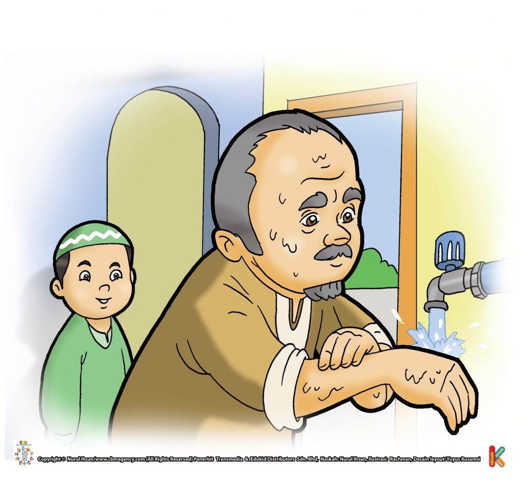 ibadah-dan-aktivitas-anak-soleh-mendahulukan-yang-kanan-saat-berwudhu