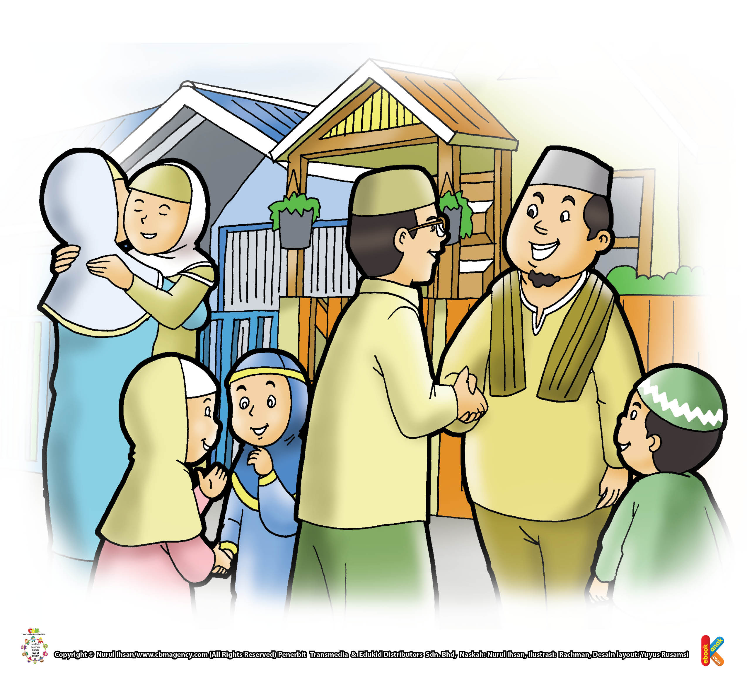 Selamat Hari Raya Idul Fitri: Takbiran Hari Raya Idul Fitri