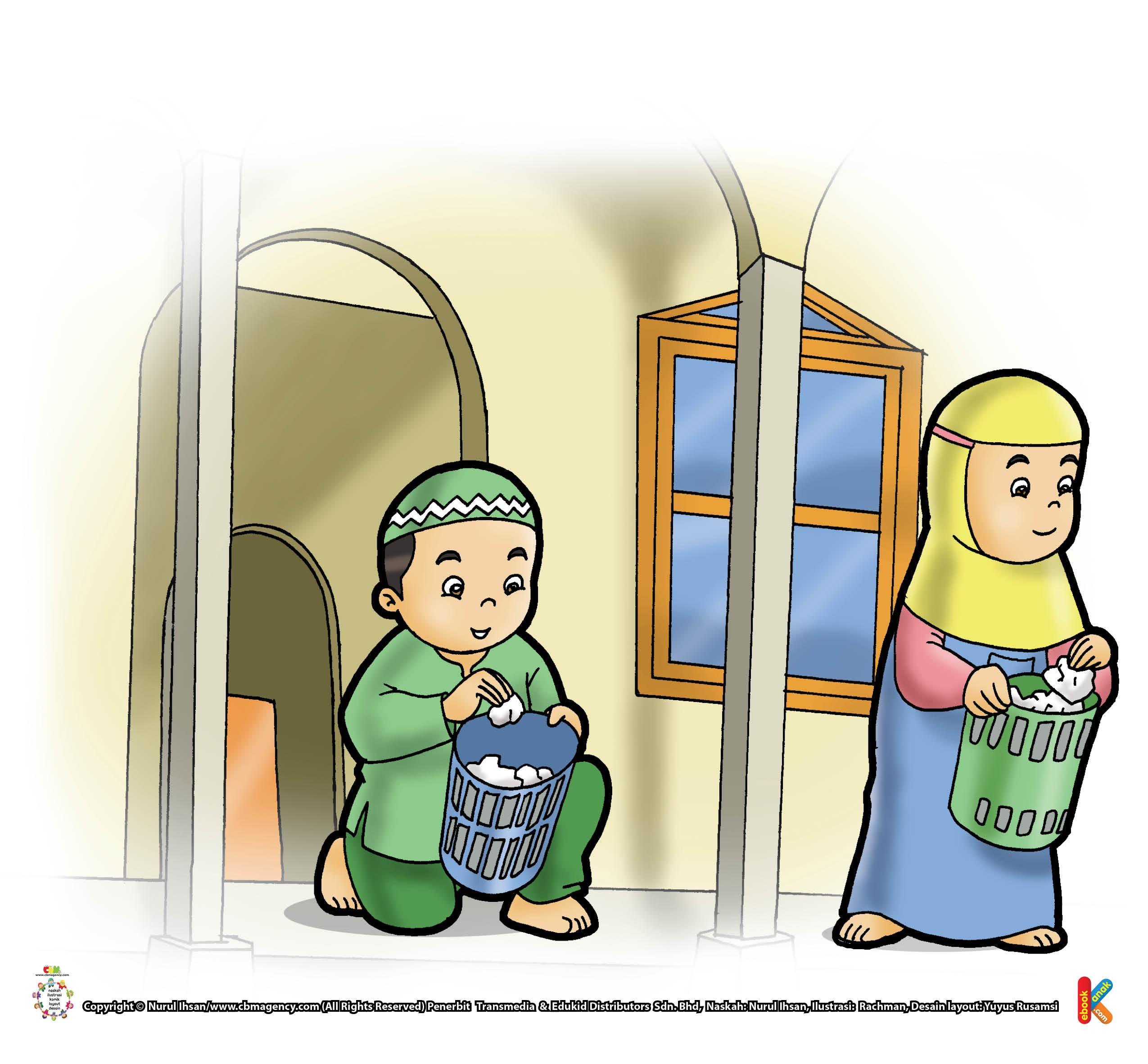 keutamaan menjaga kebersihan masjid agar mendapat pahala rumah di surga