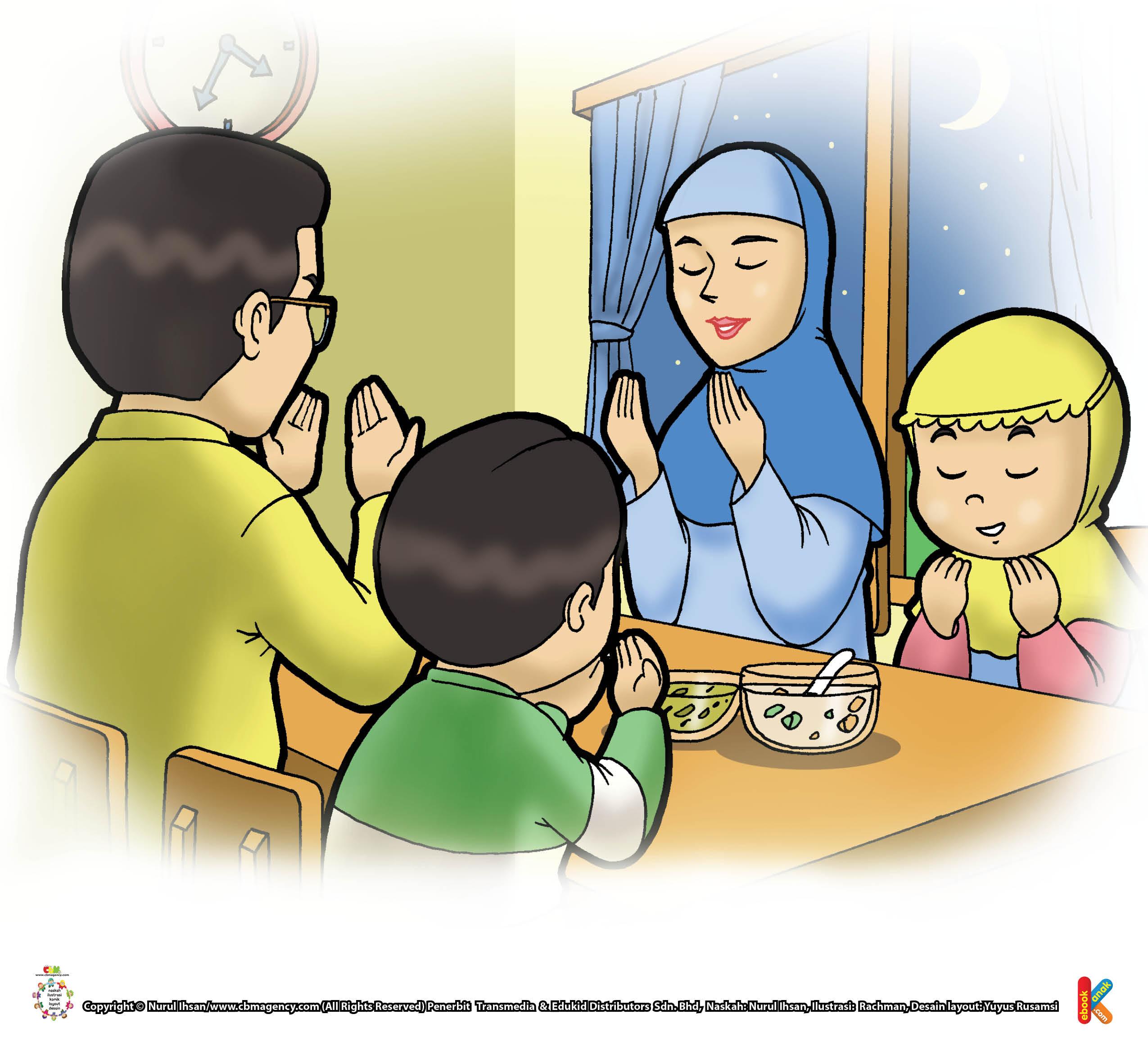 Arti niat puasa: Aku berniat berpuasa Ramadhan fardhu karena Allah Ta'ala.
