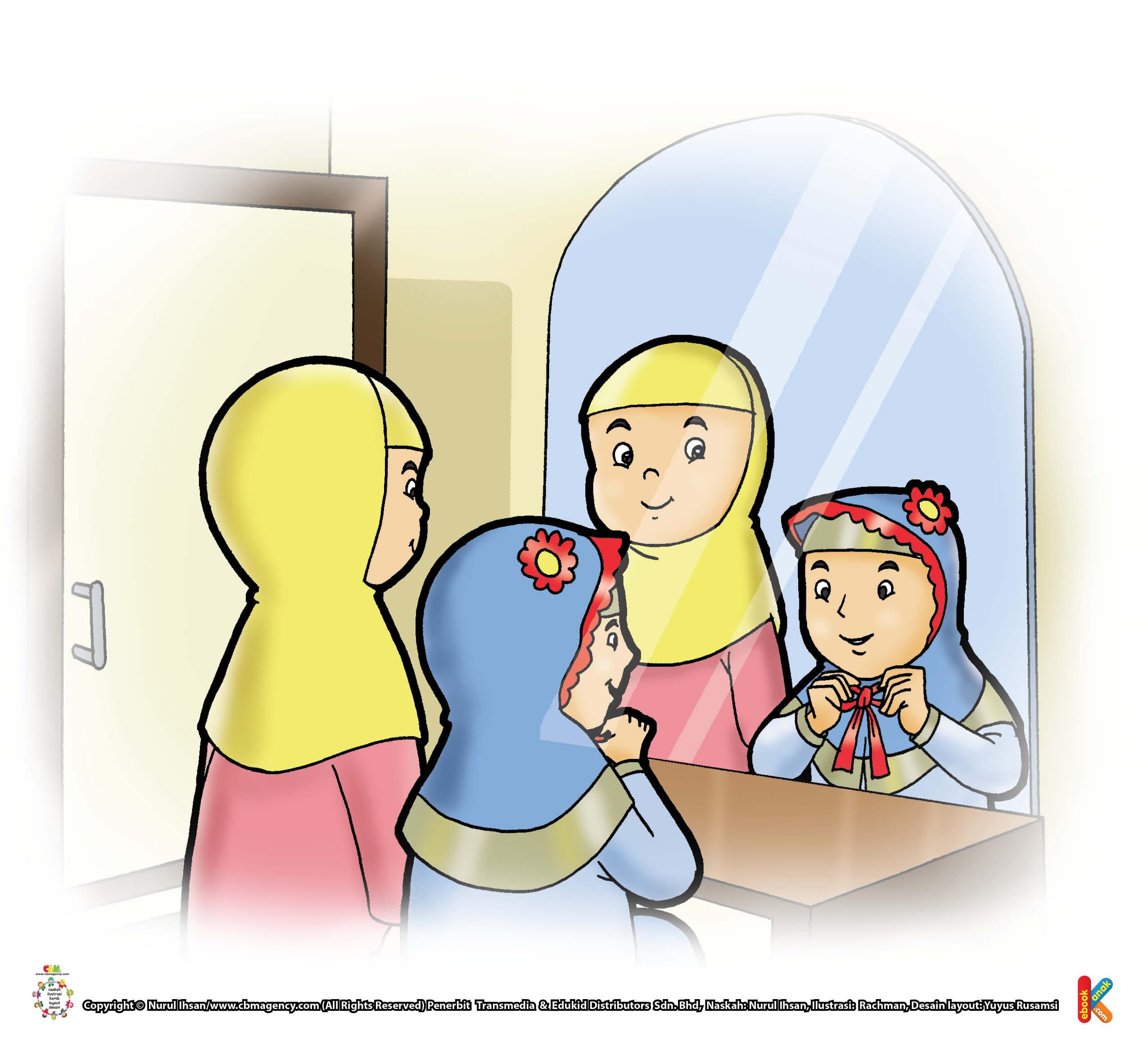 Allah akan memberi perhiasan perhiasan iman yang disukai pada orang yang suka berpakaian sederhana.