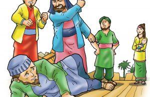 Juraij membangun tempat ibadah dan melakukan ibadah di dalamnya.