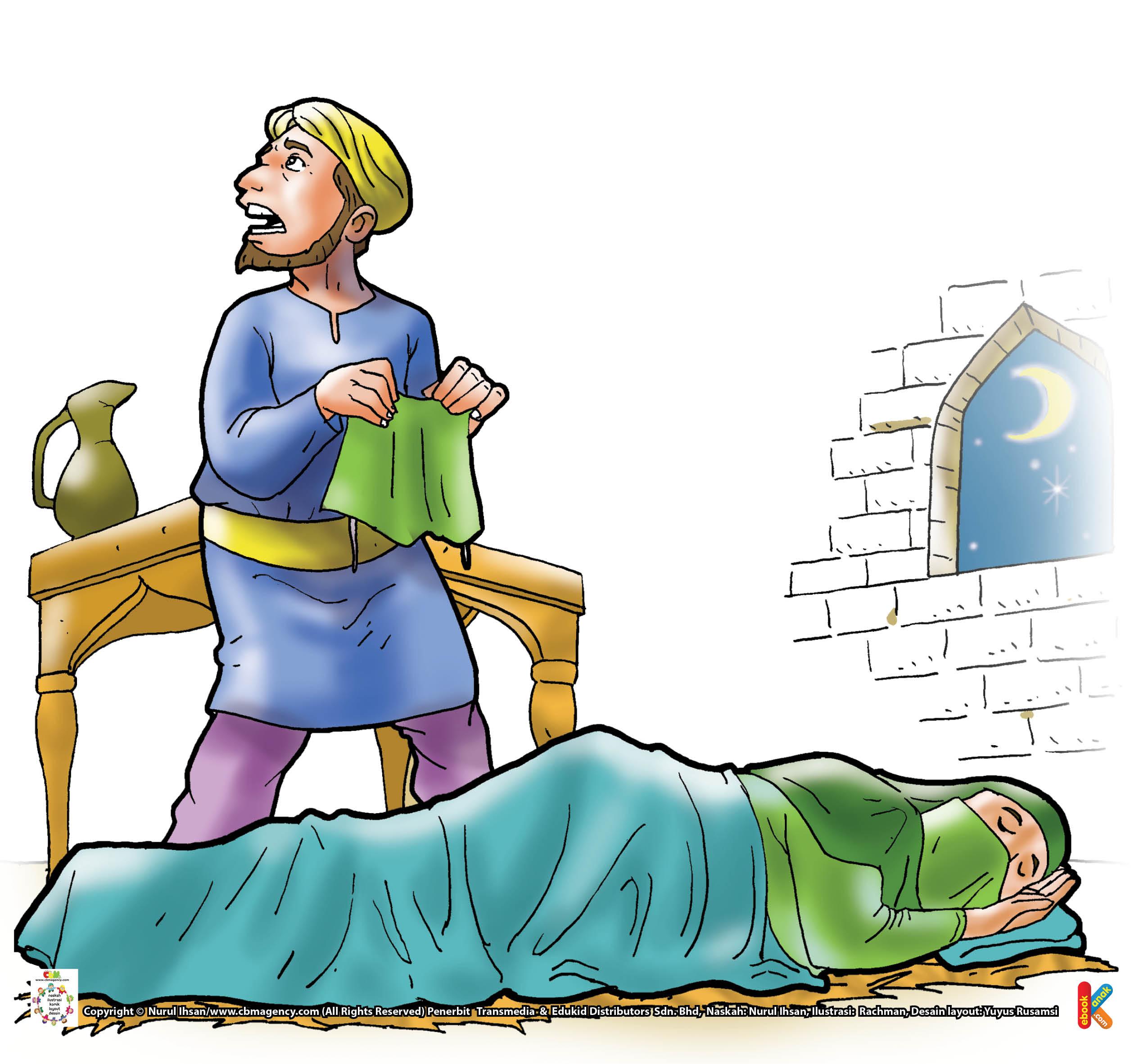 Namun, ketika pencuri hendak keluar dari rumah Rabi'ah Al-Adawiyah, ia tak menemukan jalan keluar, seperti ketika ia masuk ke rumah itu.