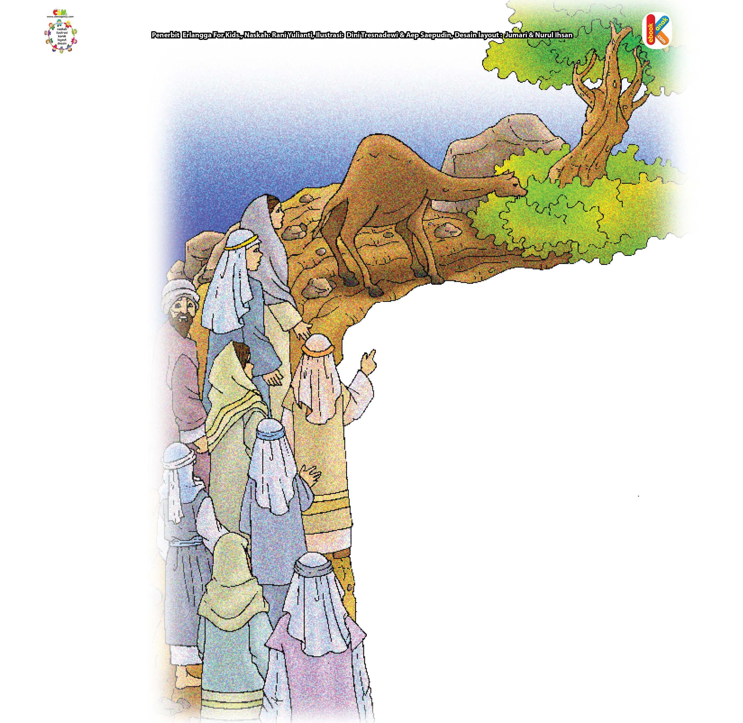 Kaum Tsamud dan Unta Betina Nabi Saleh   Ebook Anak