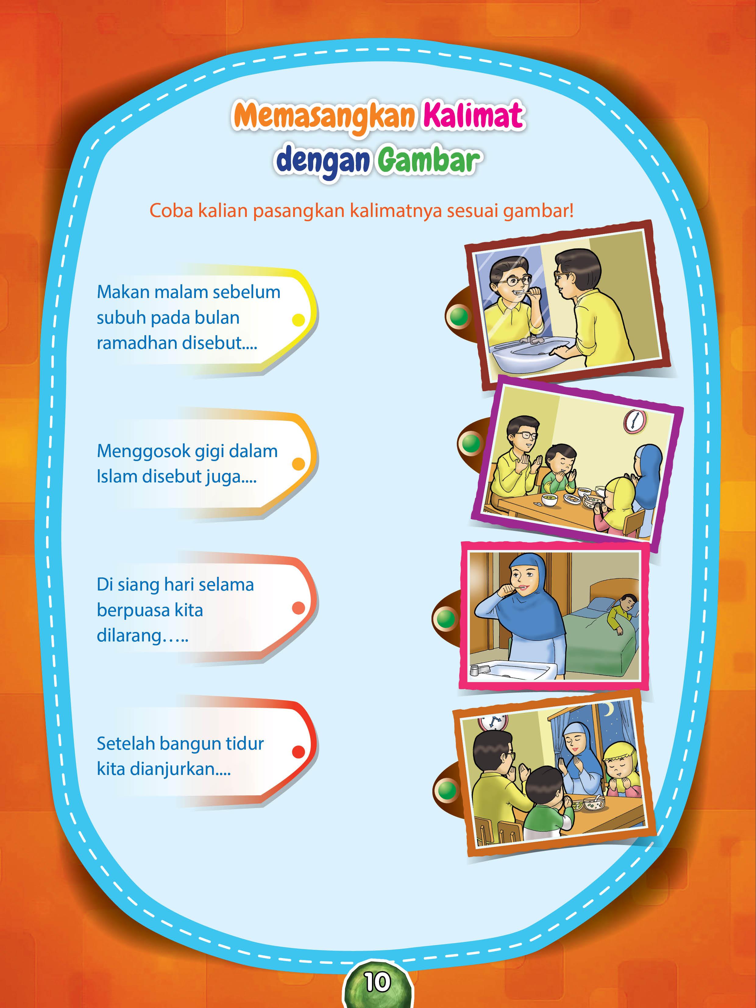Worksheets Worksheet-anak-tk worksheet tk paud memasangkan kalimat dengan gambar ebook anak gambar