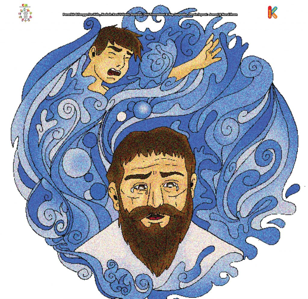 download-gambar-kanaan-putra-nabi-nuh-tenggelam-dalam-banjir