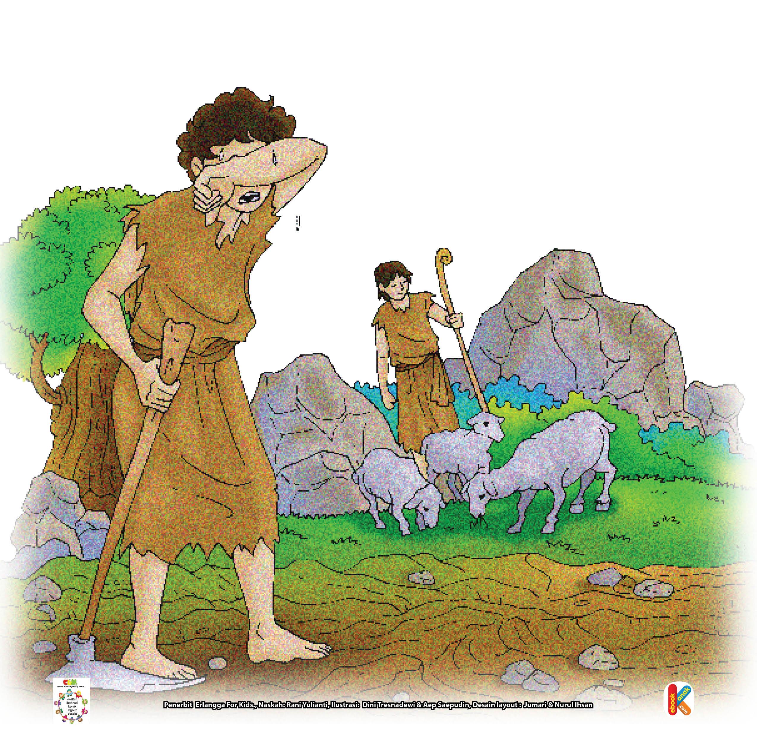 Nabi Adam diturunkan di India, sedangkan Hawa diturunkan di Arab.