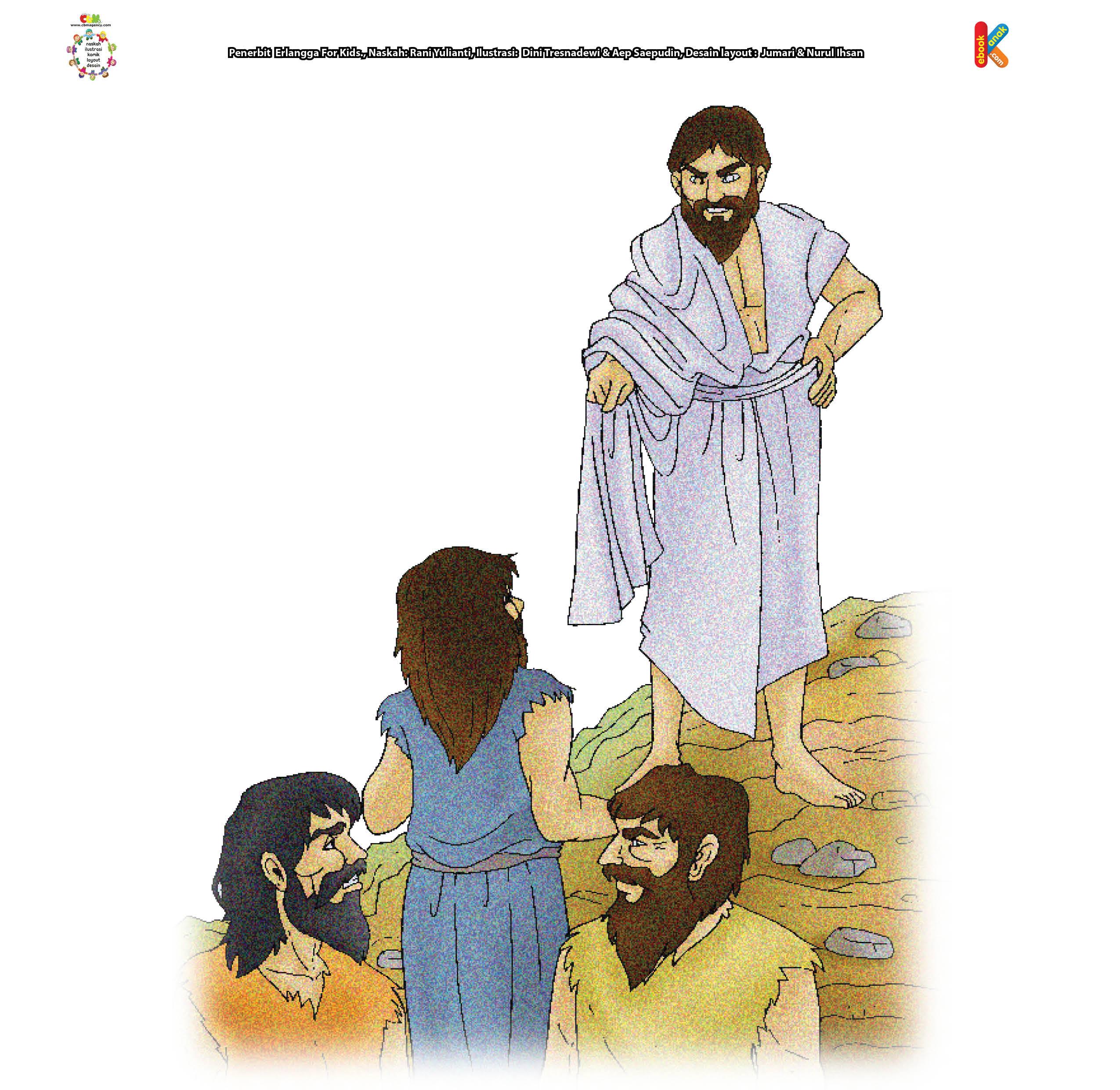 Allah memberikan kesempatan kepada Nabi Idris untuk berkenalan dengan para malaikat.