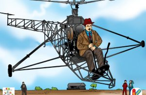 Igor Sikorsky Penerbang Helikopter Pertama