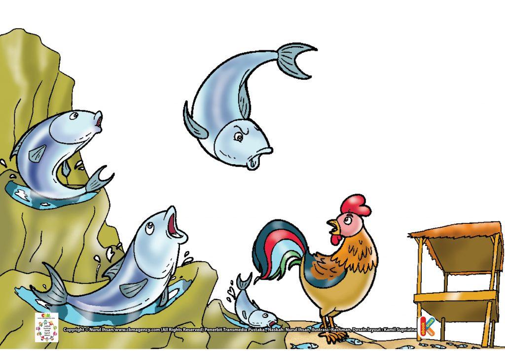 dongeng-rakyat-provinsi-kepulauan-riau-perselisihan-ayam-jantan-dan-ikan-tongkol