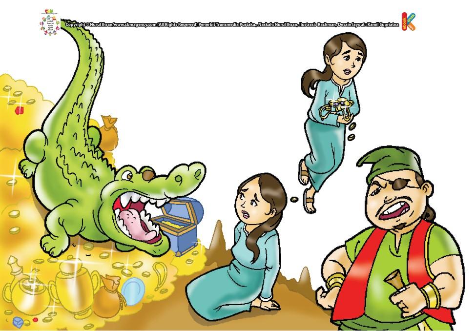 Aminah Dan Perhiasan Emas Pemberian Buaya Ebook Anak