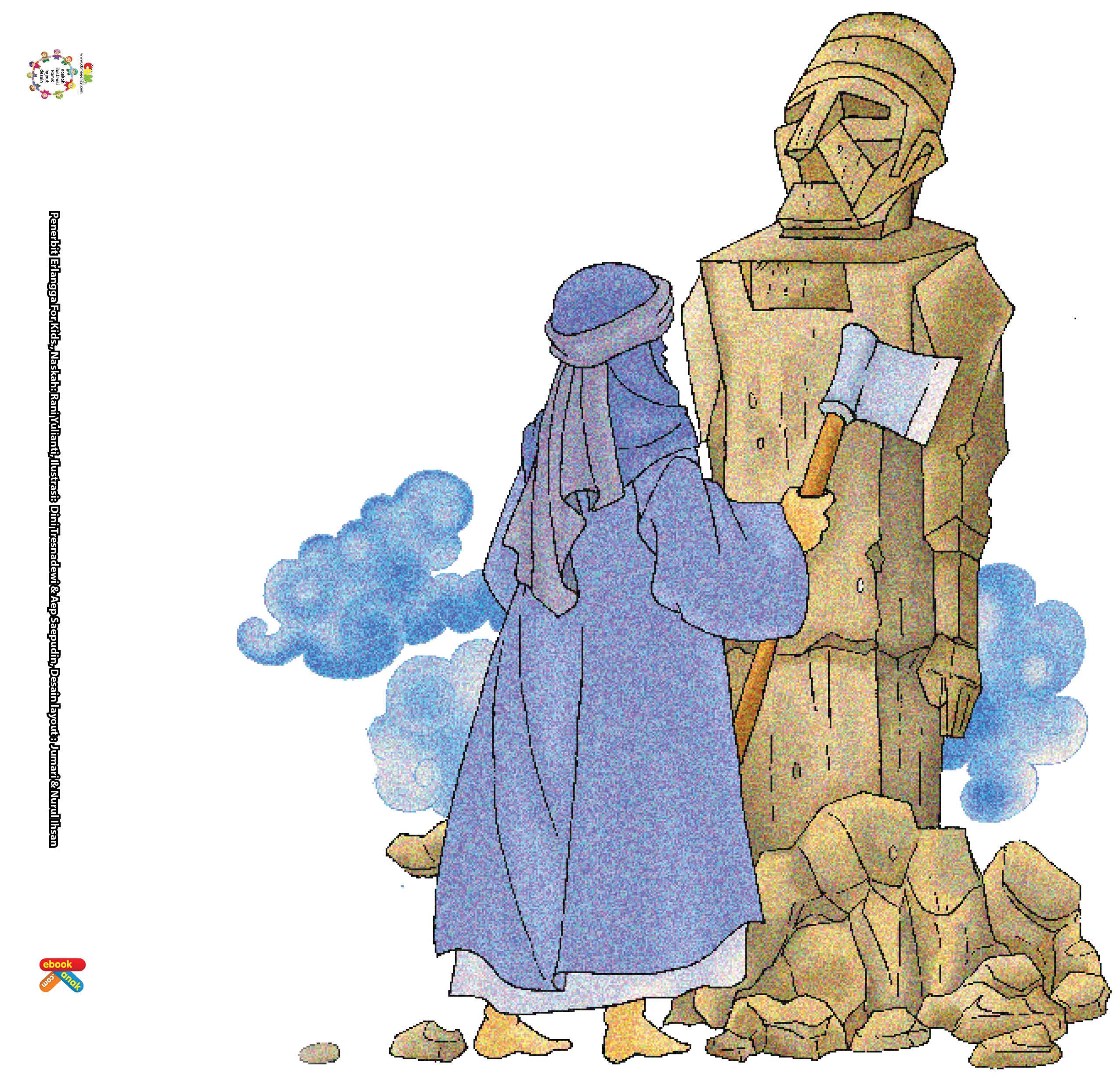 Nabi Ibrahim Menghancurkan Patung Berhala