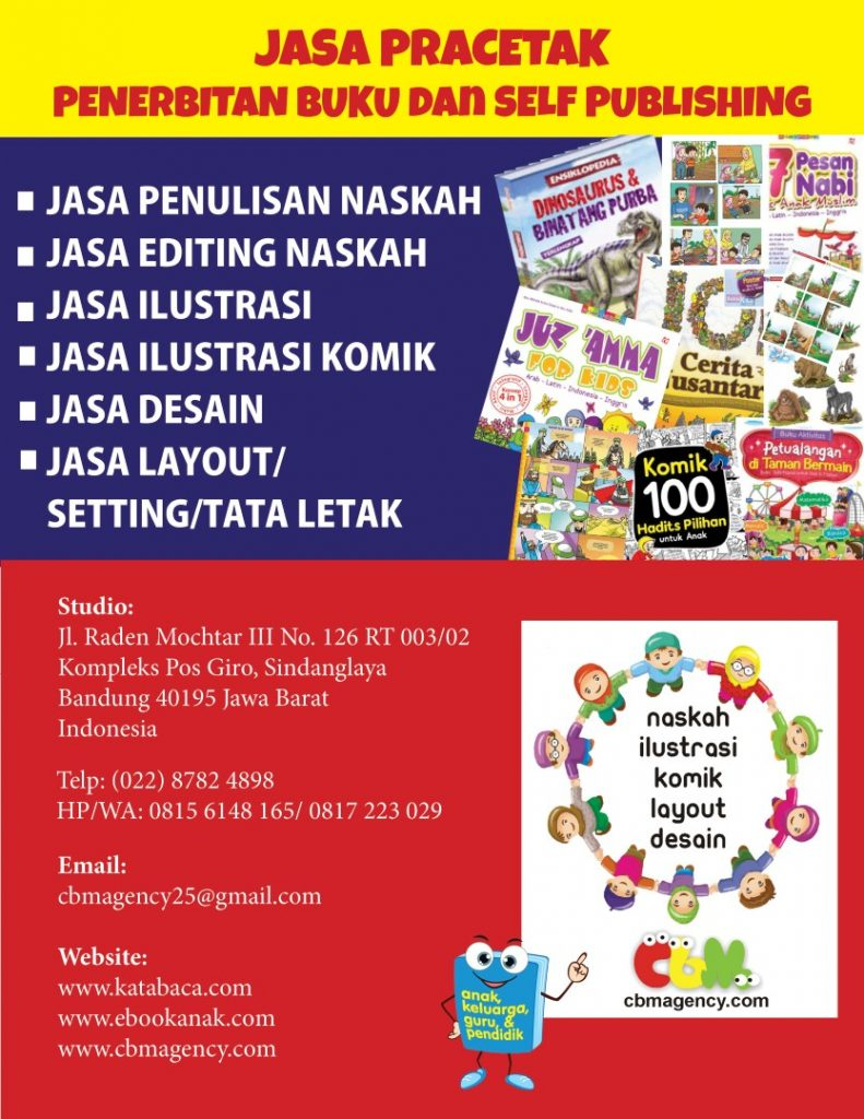 Jasa penerbitan buku dan self publishing