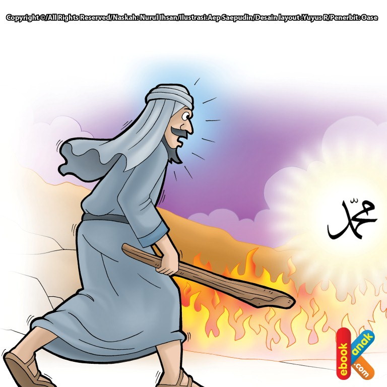 Abu Jahal dan Parit Api Rasulullah