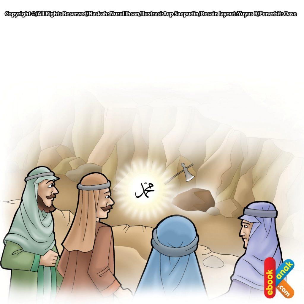 kisah-mukjizat-rasulullah-batu-bercahaya