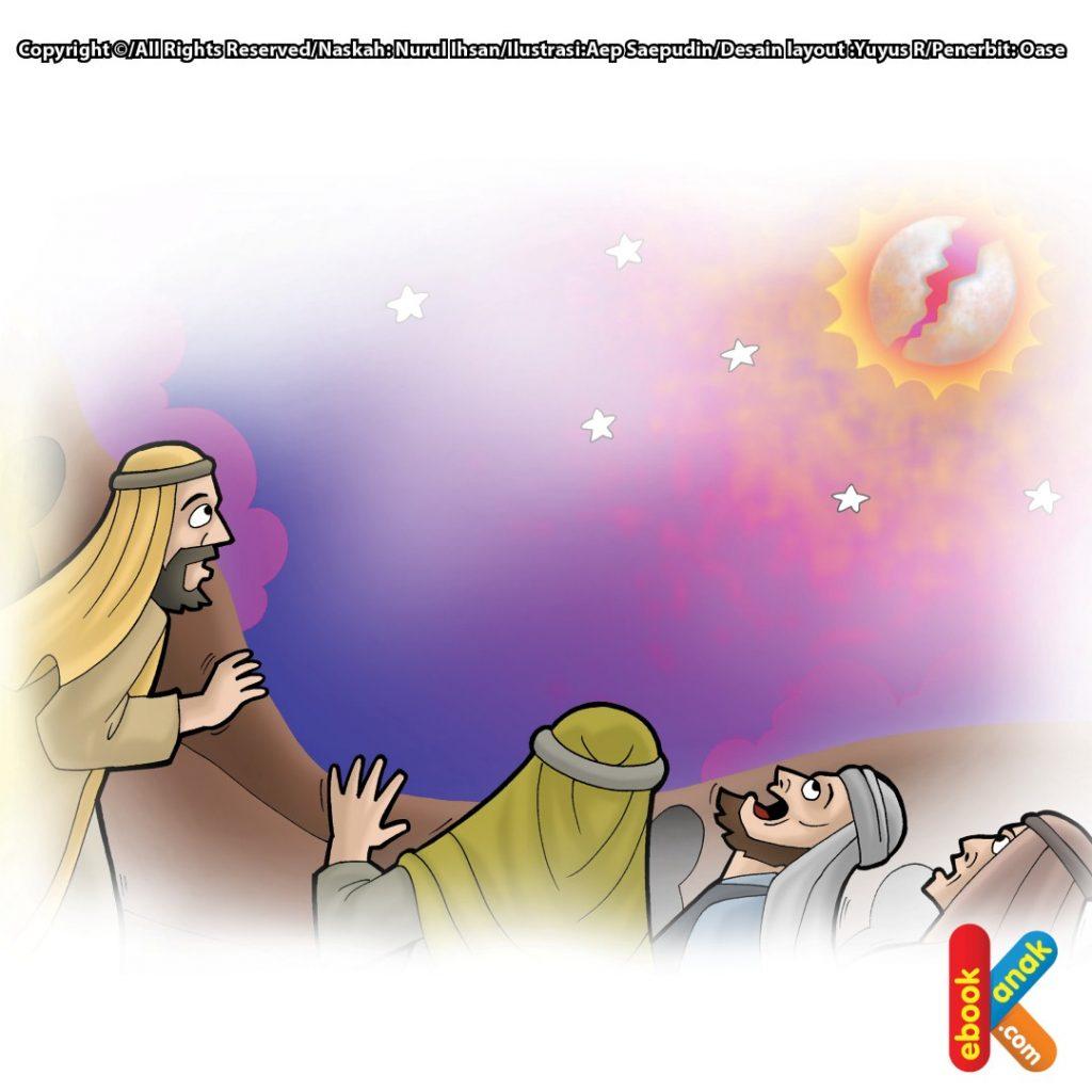 kisah-mukjizat-rasulullah-bulan-terbelah-dua