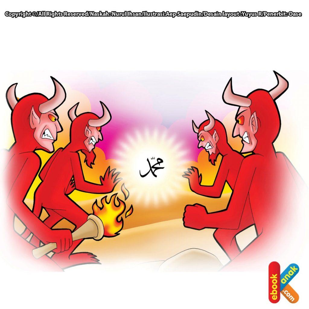 mukjizat-rasulullah-memadamkan-api-setan