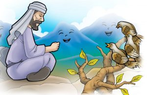 Gunung dan Burung Bertasbih Bersama Nabi Daud