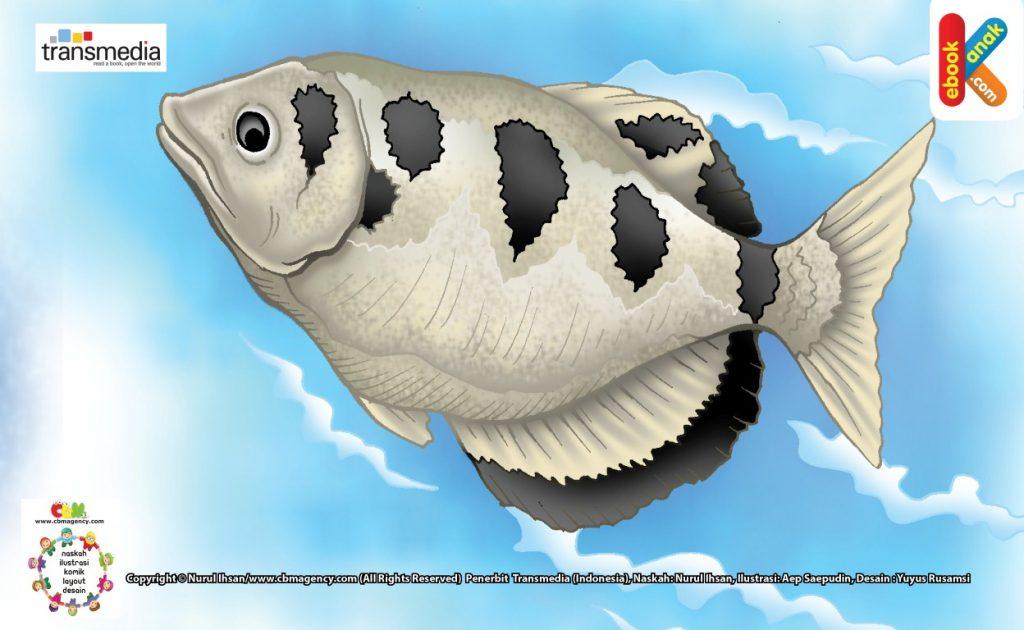 ilustrasi-ikan-sumpit-senang-menyemprot-air