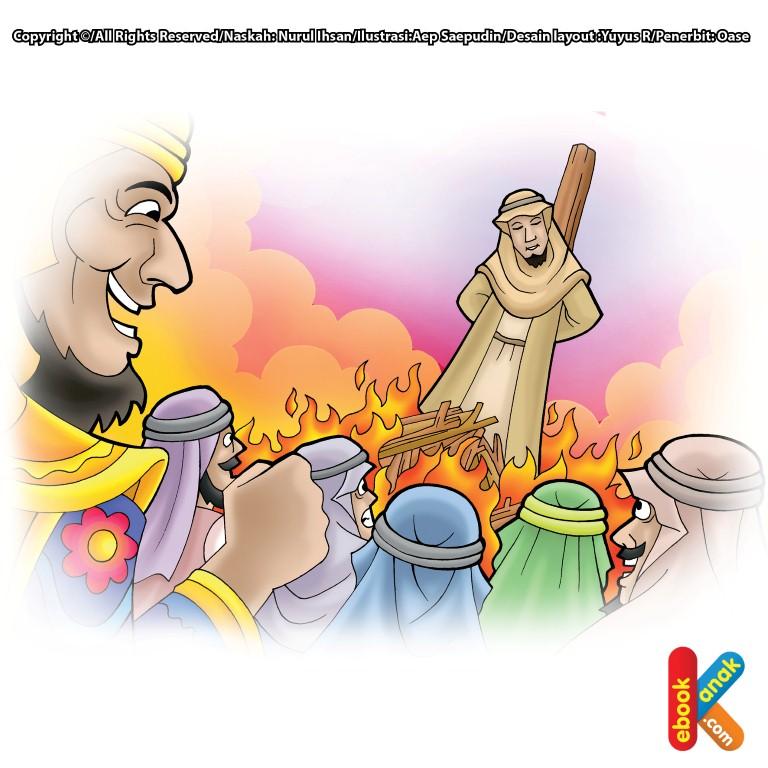Mukjizat Nabi Ibrahim Mendinginkan Api