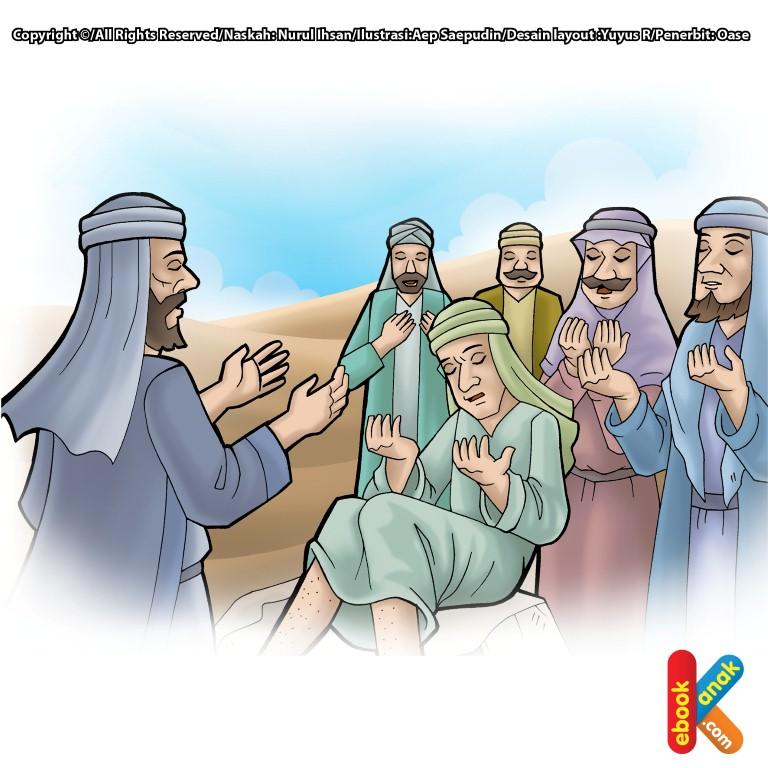 Mukjizat Nabi Isa Menyembuhkan Penyakit Berat