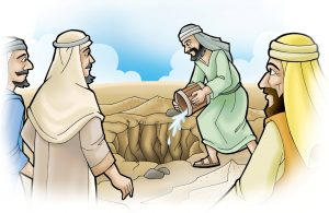 Mukjizat Rasul Air Asin Berubah Jadi Air Tawar