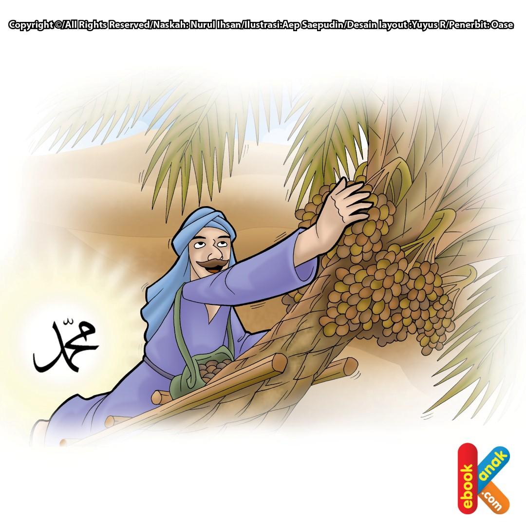 Mukjizat Rasul Pohon Kurma Berbuah Seketika