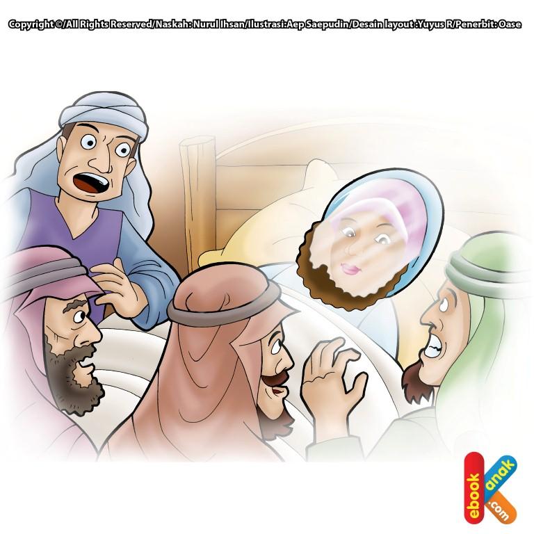 Mukjizat Rasul Wajah Bersinar Seperti Cermin