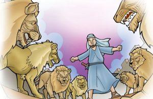 Nabi Daniel Penakluk Singa