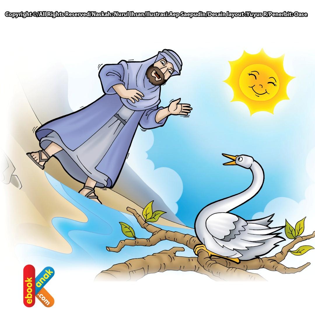 Nabi Musa dan Angsa Laut yang Razin Zikir