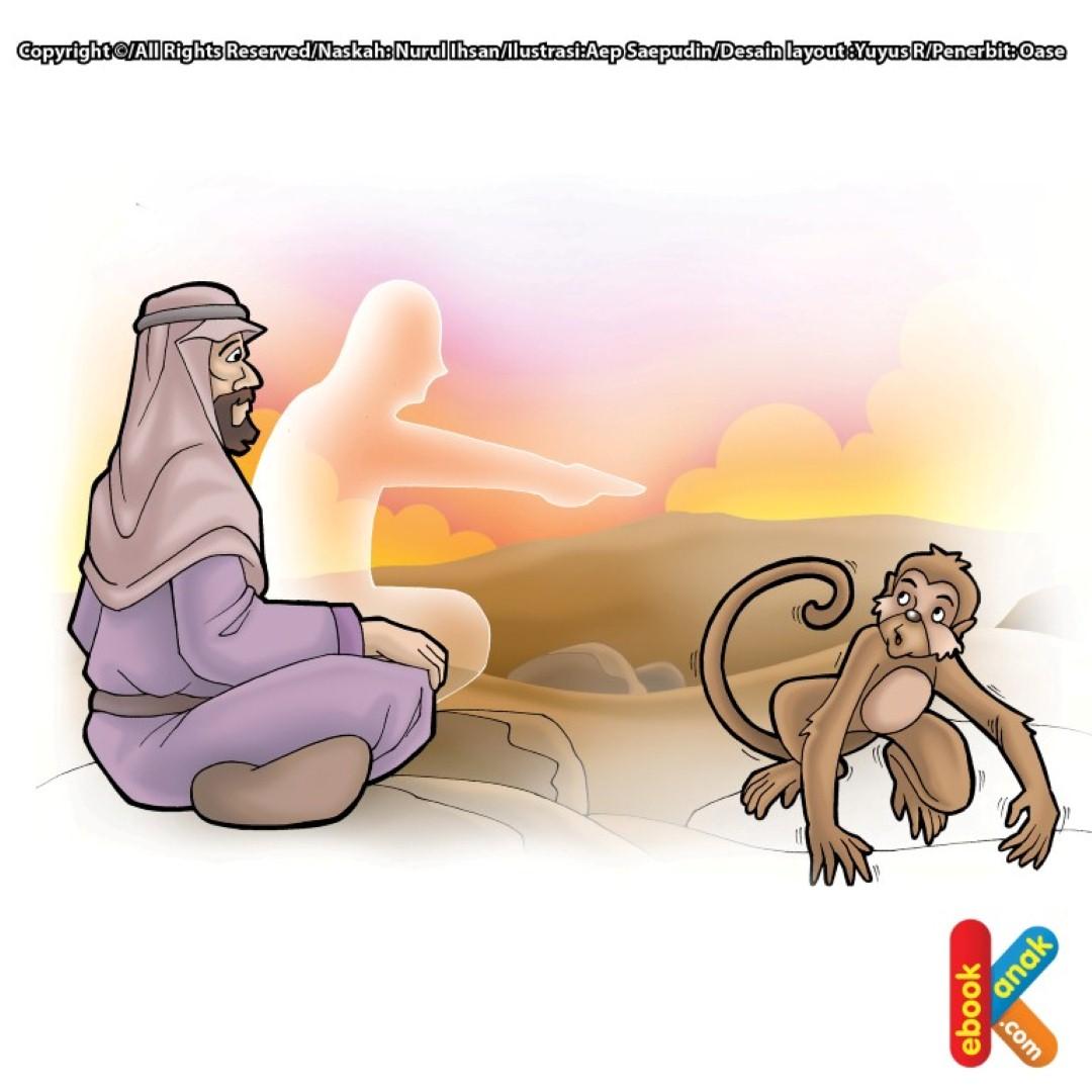 Sahabat Nabi Musa as Menjadi Manusia Kera