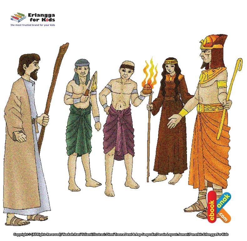 Firaun Menantang Nabi Musa untuk Bertanding