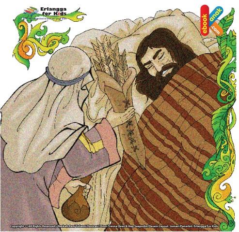 Kekerasan hati Raja Thalout kepada Nabi Daud
