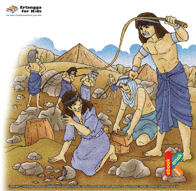 Keturunanan Nabi Yakub as Dibawah Raja Firaun