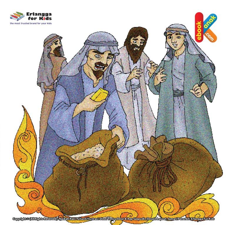 Nabi Yakub Tak Izinkan Benyamin Dibawa ke Mesir