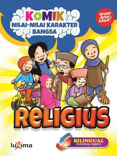 18 Komik Seri Nilai-Nilai Karakter Bangsa: Religius (Bilingual)