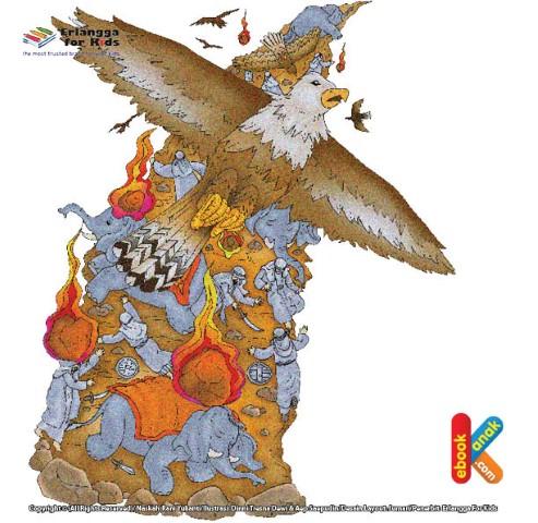 Raja Abrahah Dihujani Batu oleh Burung Ababil