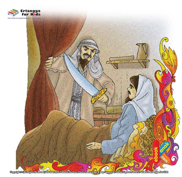 Ali bin Abu Thalib Tidur di Tempat Rasulullah