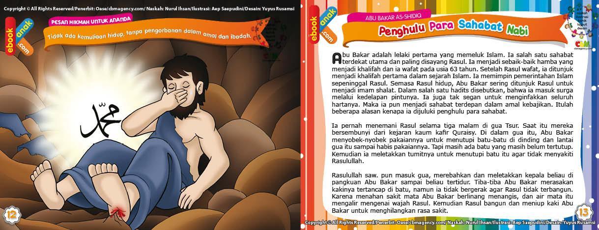 Download Ebook Abu Bakar Shiddiq Penghulu Para Sahabat Nabi