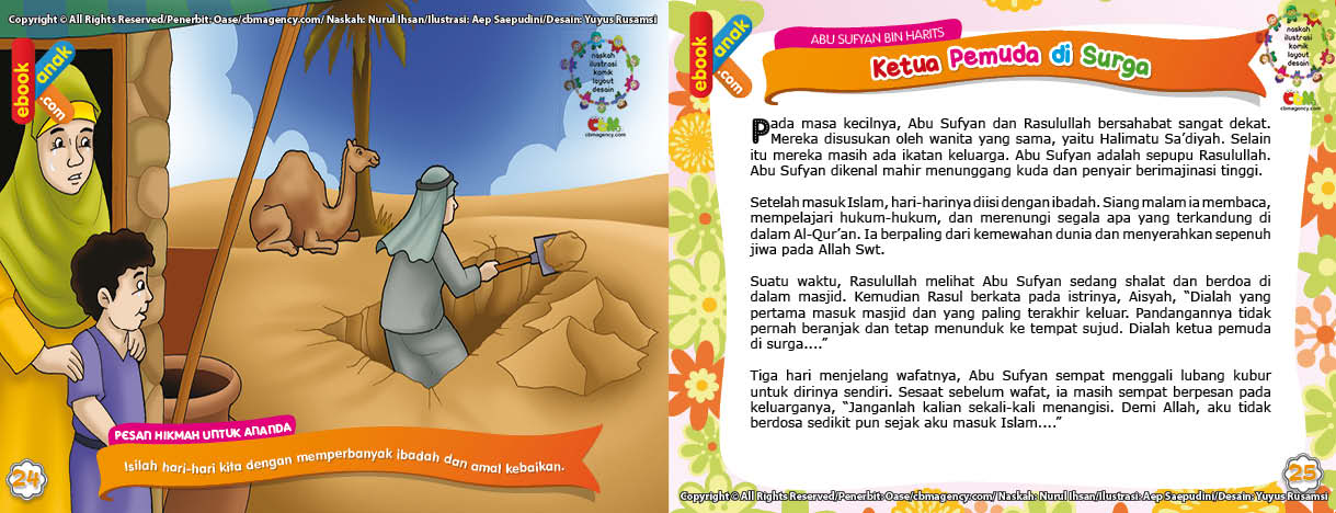 Abu Sufyan Menggali Lubang Kuburnya Sendiri