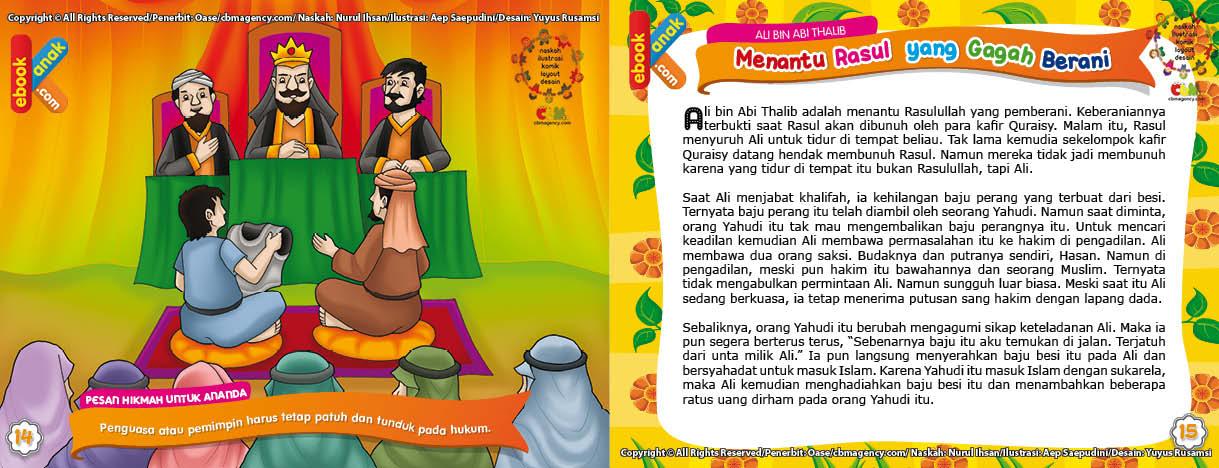 Orang Yahudi Masuk Islam Berkat Baju Perang Milik Ali bin Abi Thalib