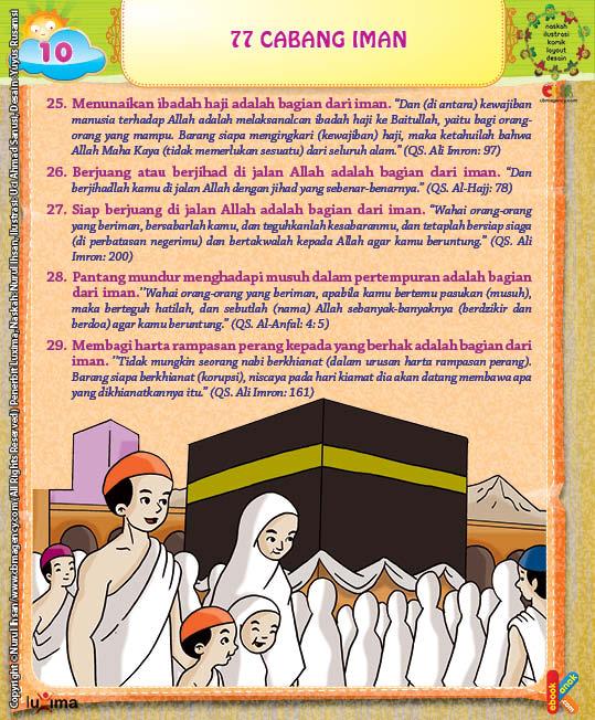 Ilustrasi Ibadah Haji Bagian dari Cabang Iman