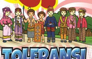 Ebook Gratis Komik Nilai-Nilai Karakter Bangsa Bilingual (bahasa Indonesia - Inggris): Toleransi