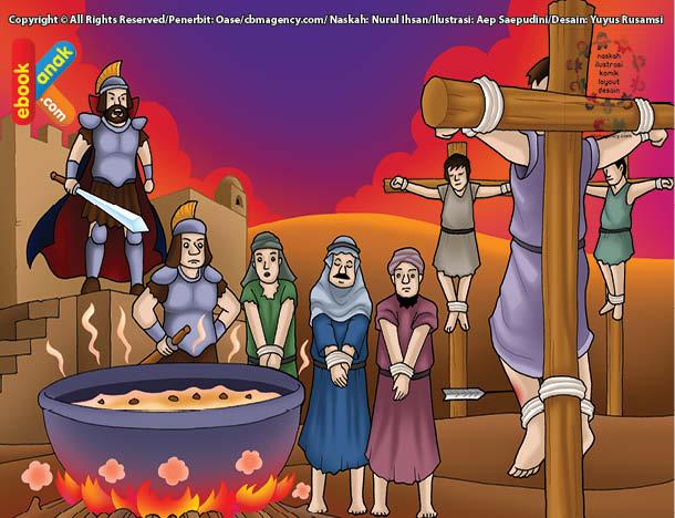 Abdullah bin Hudzafah as-Sahmi pernah menjadi tawanan perang Heraklius kaisar Romawi Timur