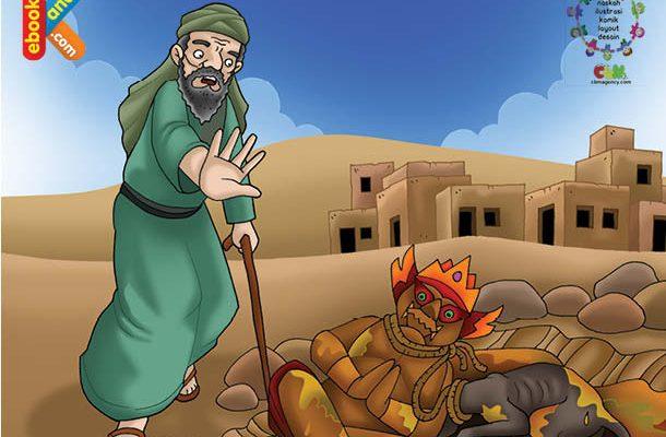 Amr bin Jamuh Masuk Islam Setelah Melihat Patung yang Disembahnya Dibuang Ke Dalam Pembuangan Kotoran Manusia